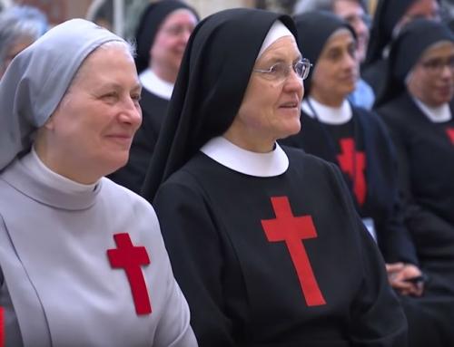 Suore Camilliane in udienza da Papa Francesco