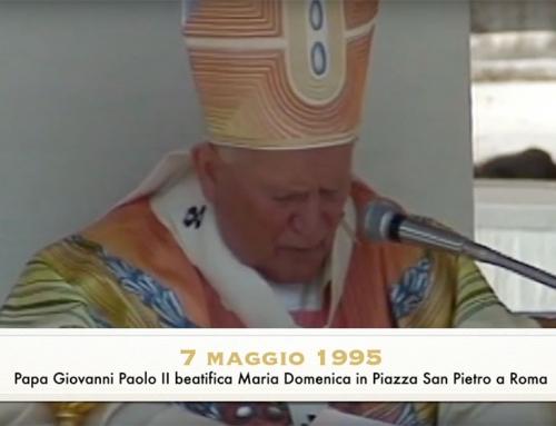 25° Anniversario della Beatificazione di Maria Domenica